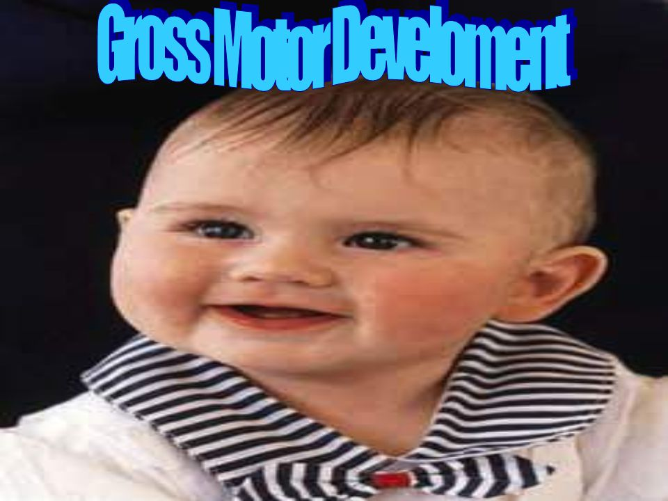 Month Nine Gross Motor Skills Fine Motor Skills Transitions sit to tummy Uses thumb to index grasp (crude) Pulls to stand while holding on Crude release of objects Creeps on all foursDrops toys and objects Stands while leaning on furniture Points index finger
