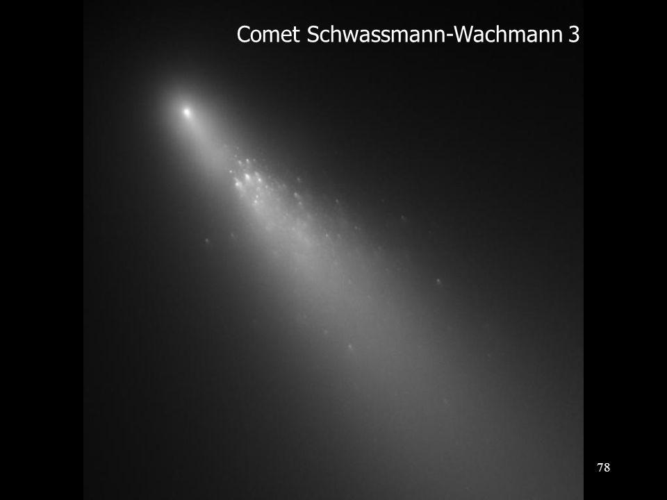 Comet Schwassmann-Wachmann 3 78