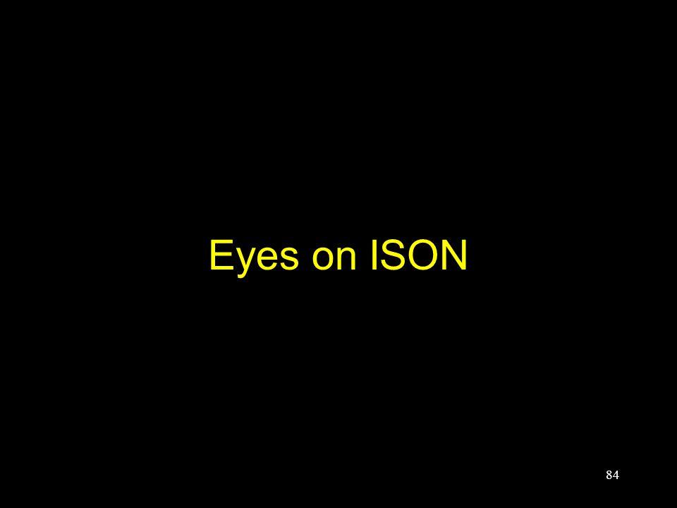 Eyes on ISON 84