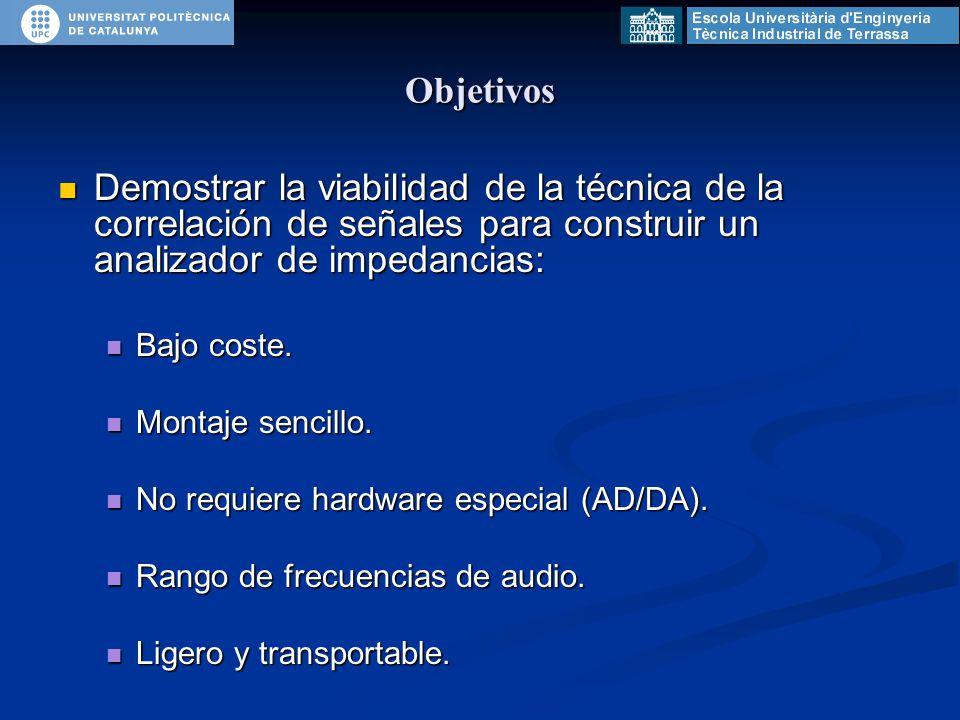 Descripción general Primer diseño: Primer diseño: Analizador de impedancias compacto y utilizable.