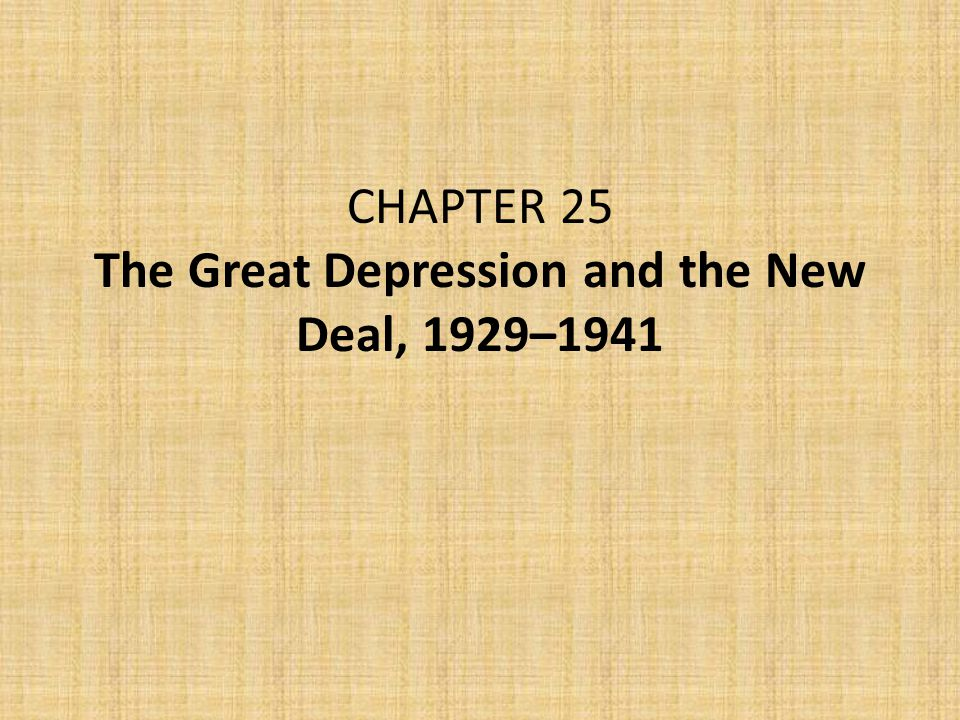 I.Introduction The stock market crash in 1929 touched off a crisis that left 13 million Americans (25 percent of the workforce) unemployed by the time Franklin D.