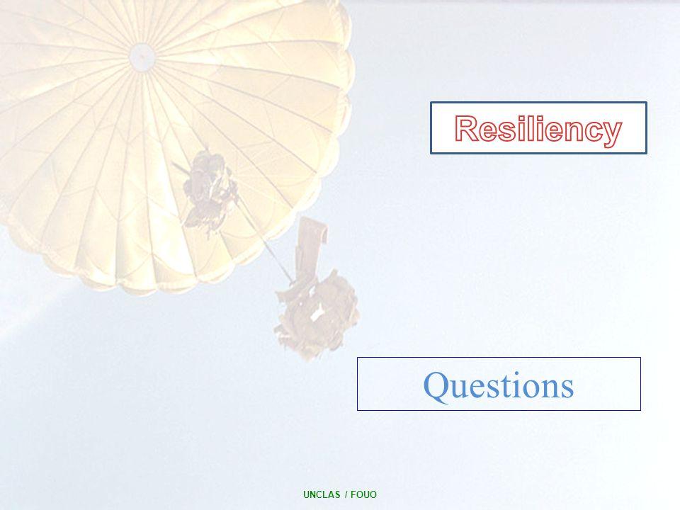 UNCLAS / FOUO 14 Questions