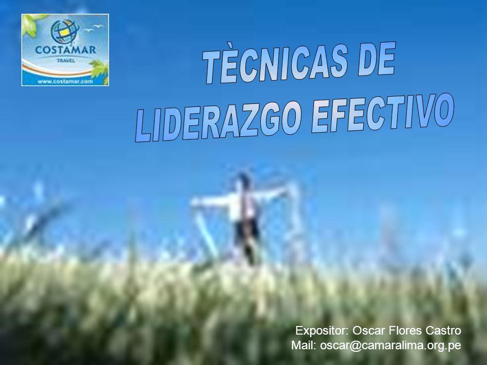 Expositor: Oscar Flores Castro Mail: oscar@camaralima.org.pe
