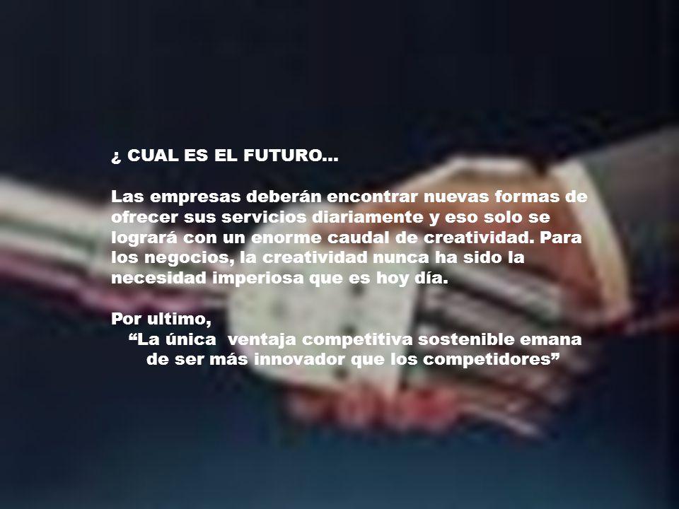 ¿ CUAL ES EL FUTURO...