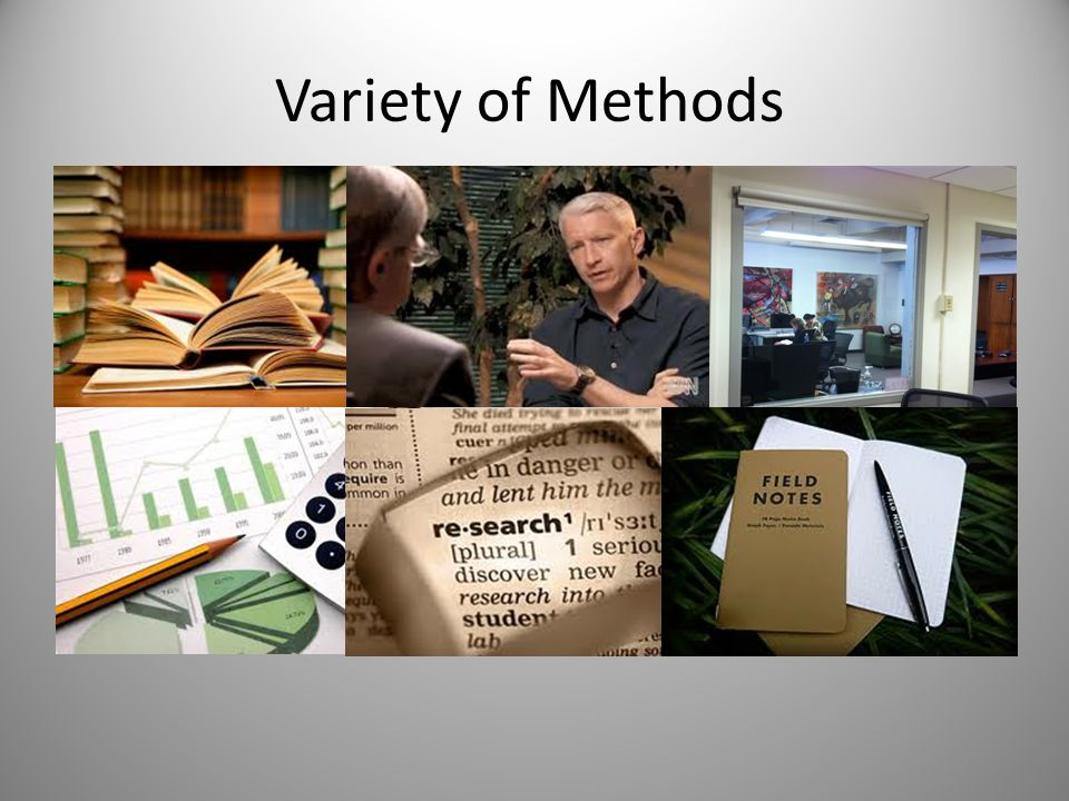 Variety of Methods