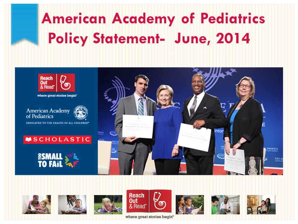American Academy of Pediatrics Policy Statement- June, 2014