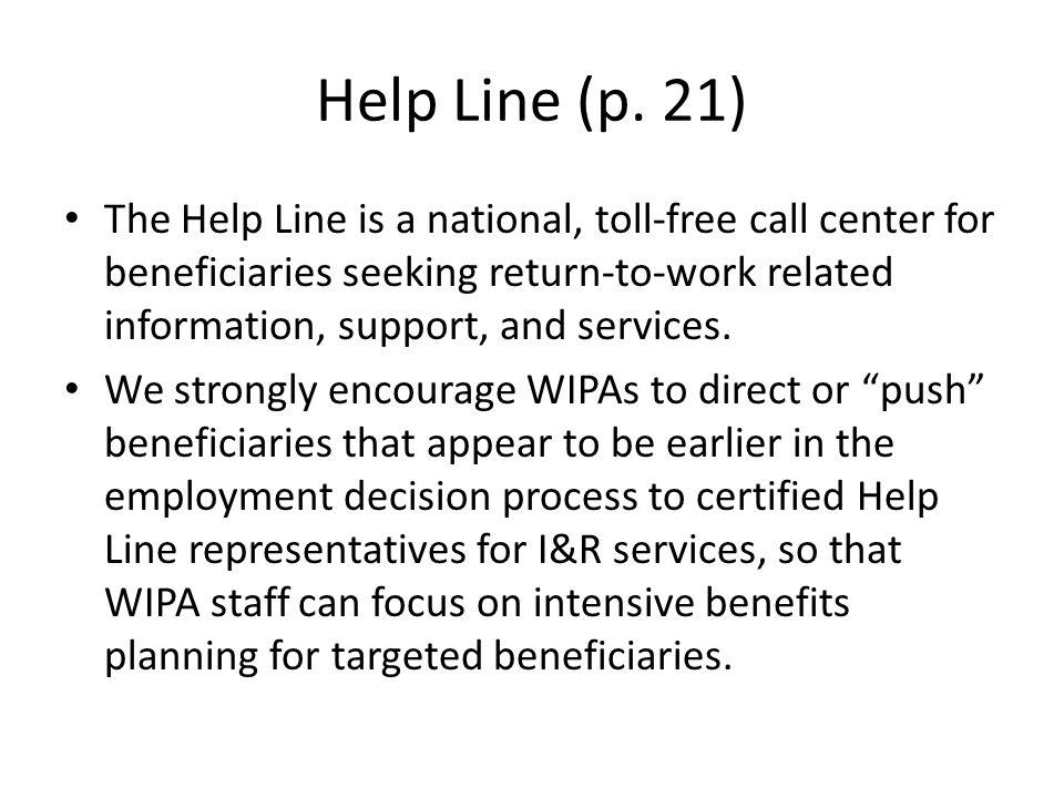Help Line (p.