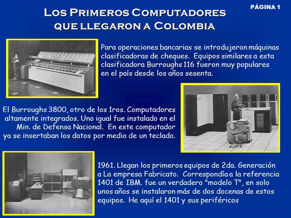 Para operaciones bancarias se introdujeron máquinas clasificadoras de cheques.