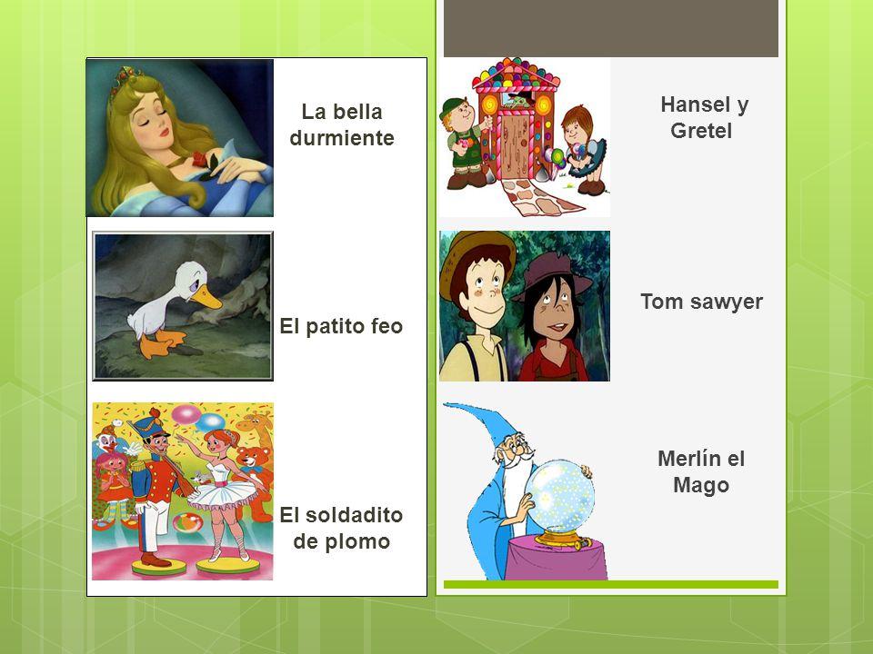 El Jorobado de Notre Dame Rapumzel Los tres cerditos El sastrecillo