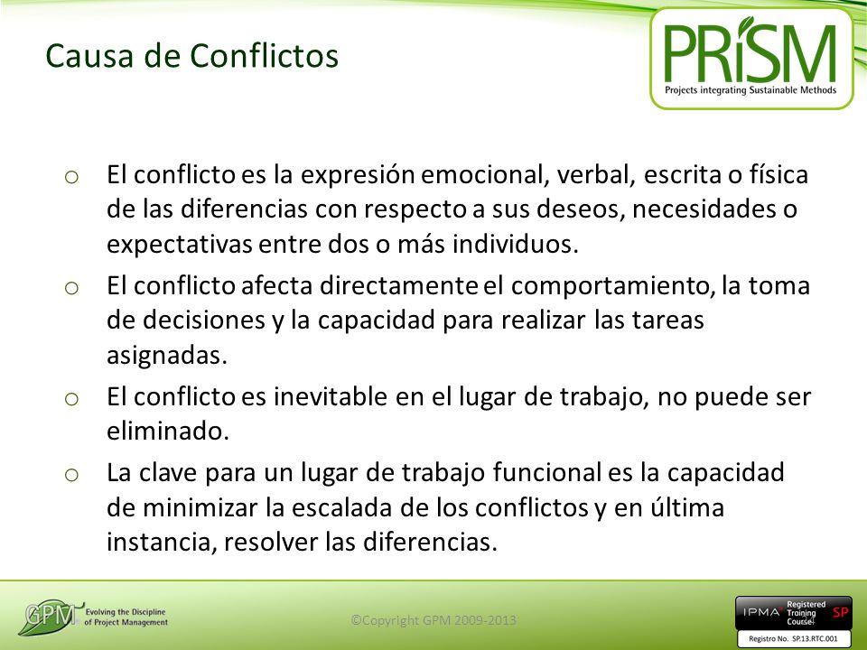 Causa de Conflictos o El conflicto es la expresión emocional, verbal, escrita o física de las diferencias con respecto a sus deseos, necesidades o exp