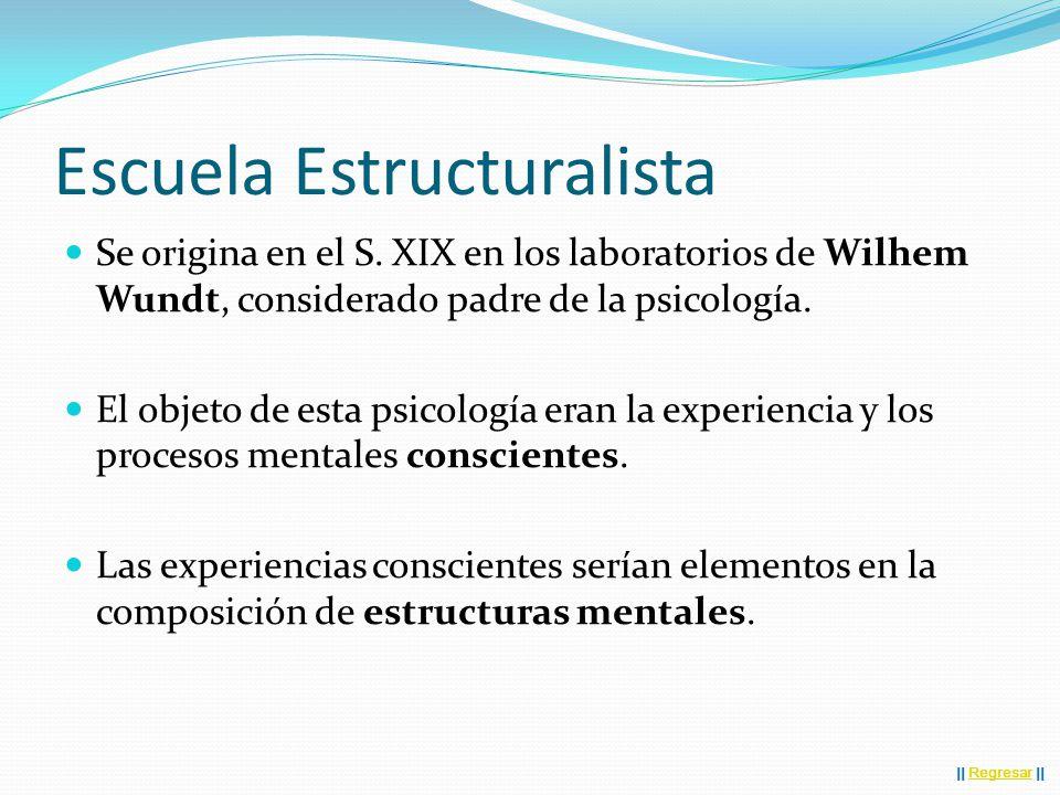 Escuela Estructuralista Se origina en el S.