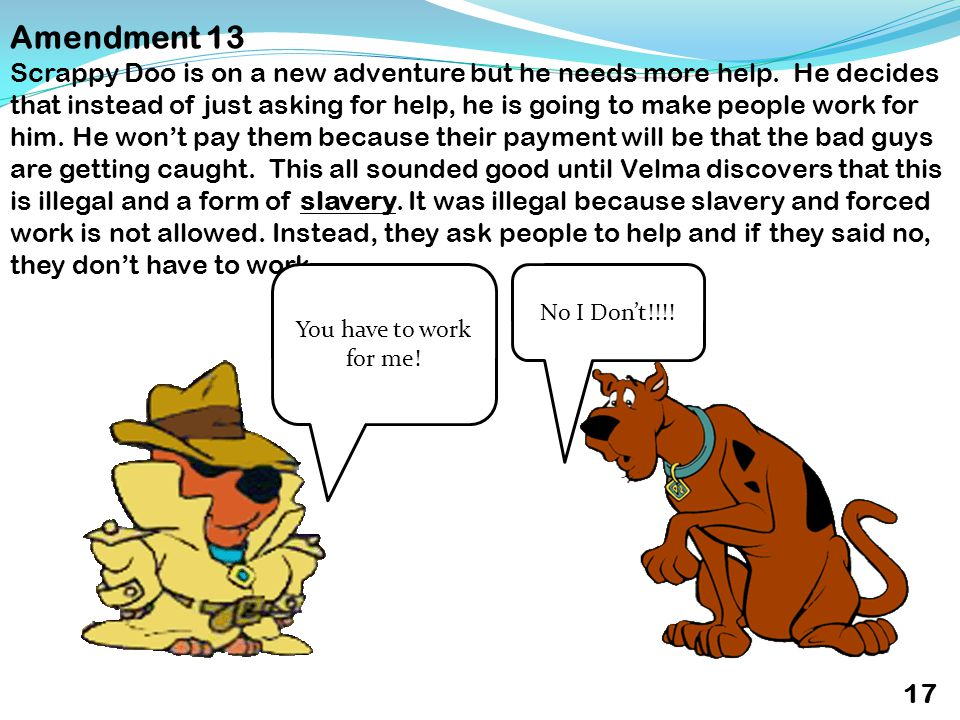 Amendment 13 Scrappy Doo is on a new adventure but he needs more help.