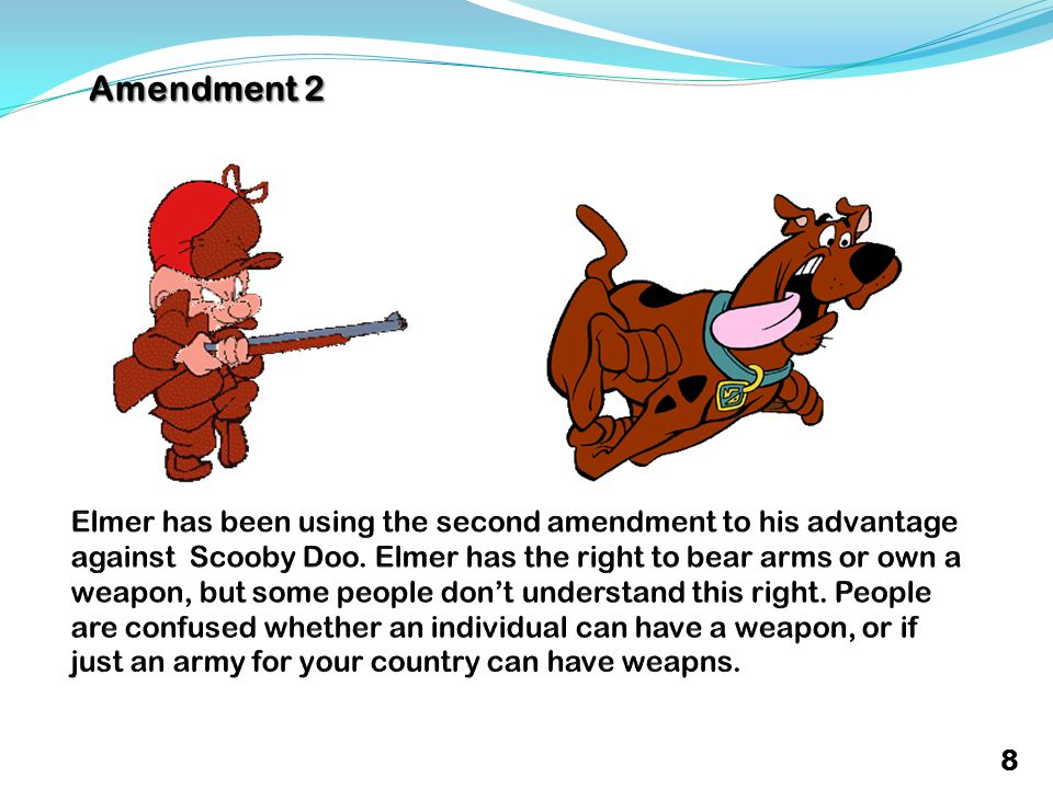 Amendment 2 8
