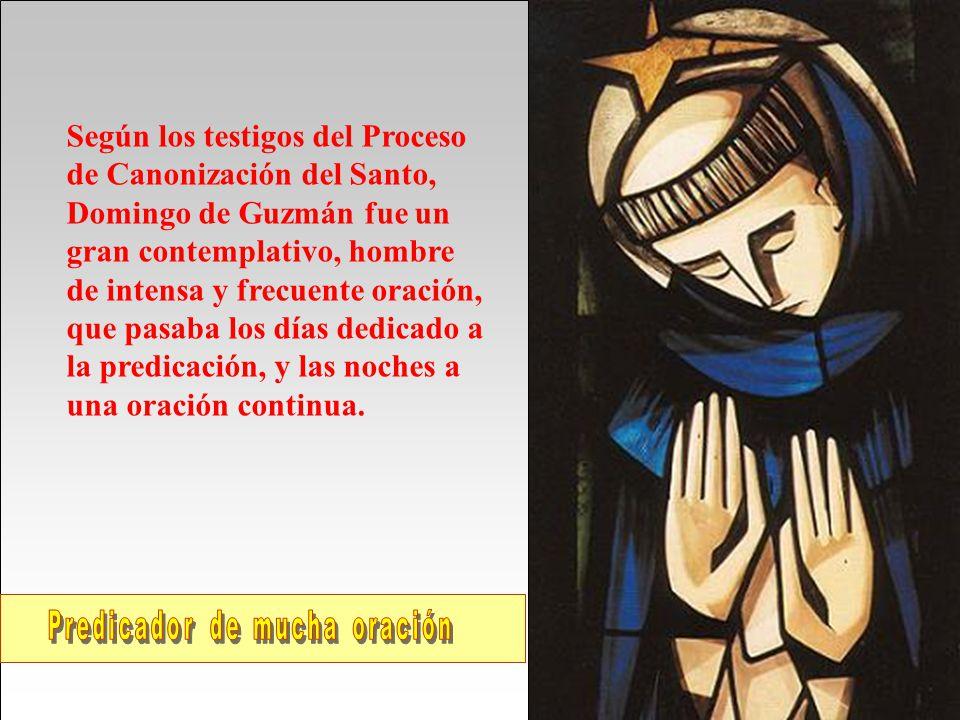 Hombre de Oración Santo Domingo de Guzmán