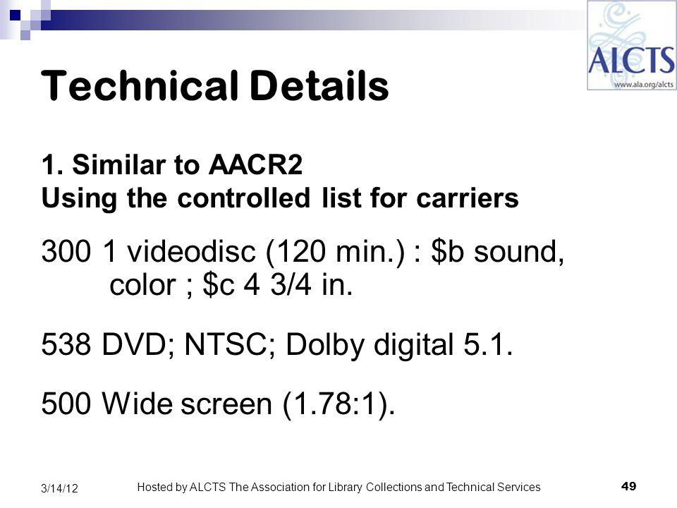 Technical Details 1.