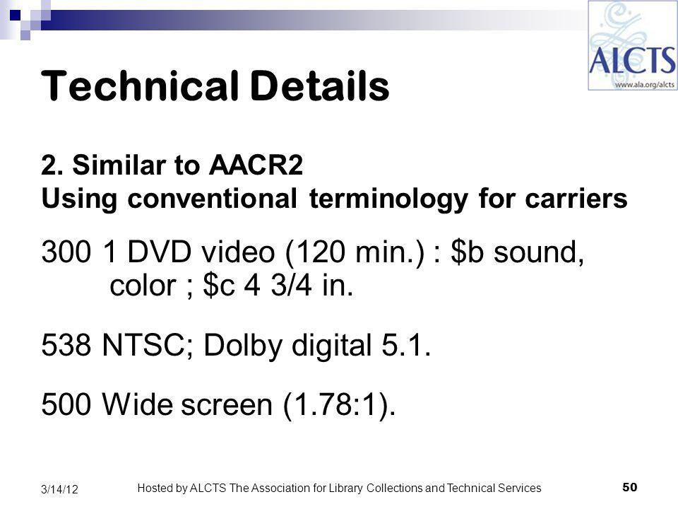 Technical Details 2.