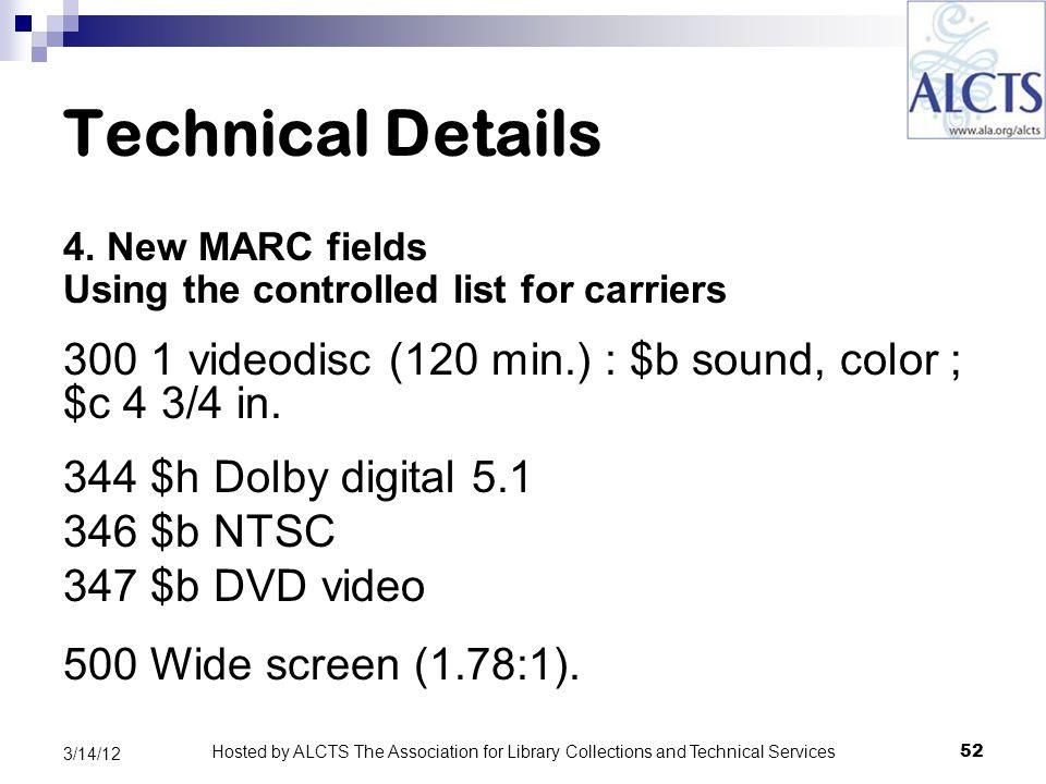 Technical Details 4.