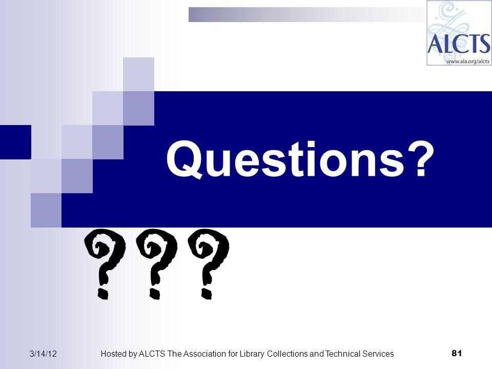 Questions. .