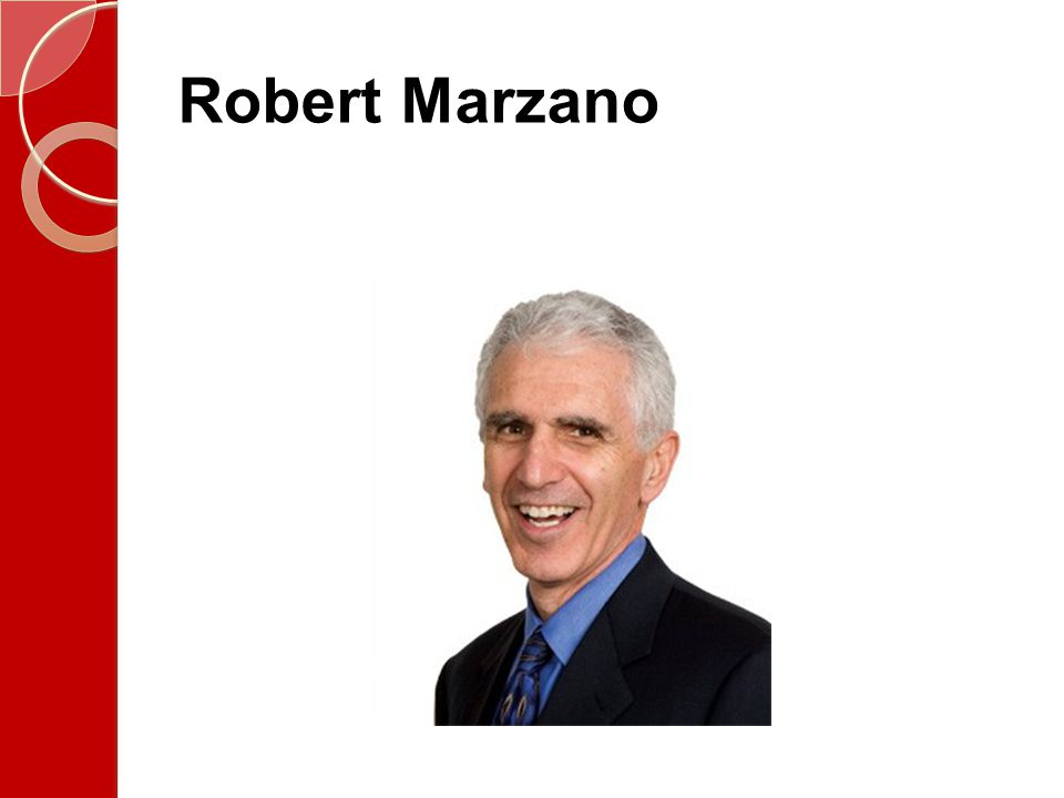 Why do I care about Marzano.