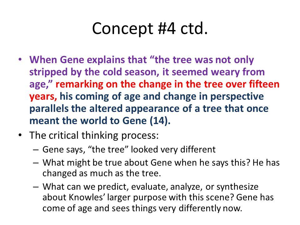 Concept #4 ctd.