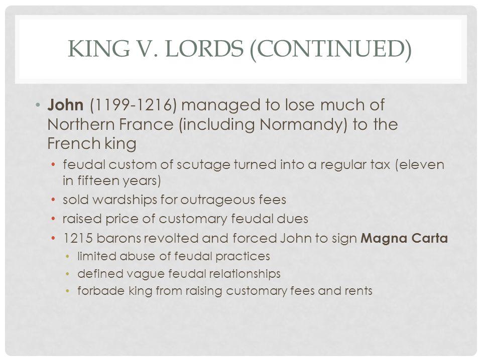 KING V.