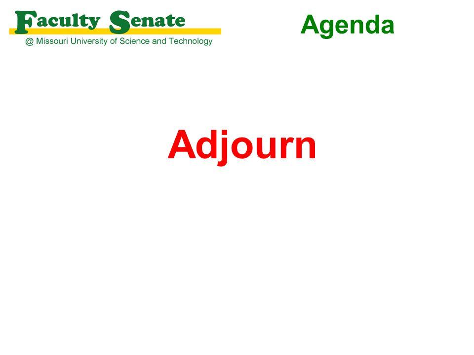 Agenda Adjourn