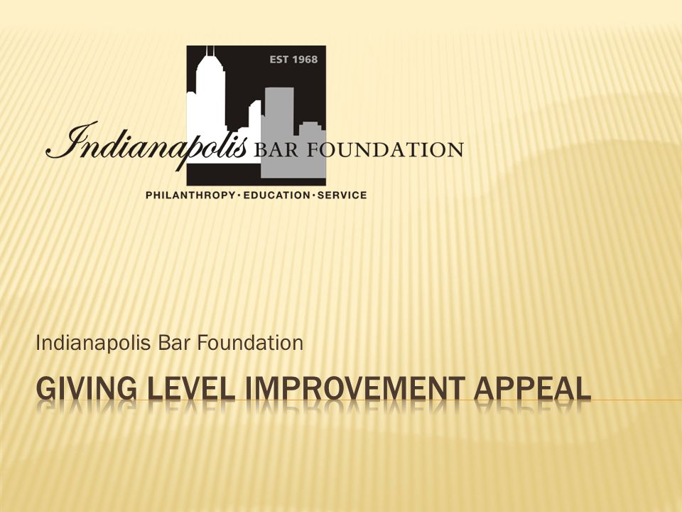 Indianapolis Bar Foundation