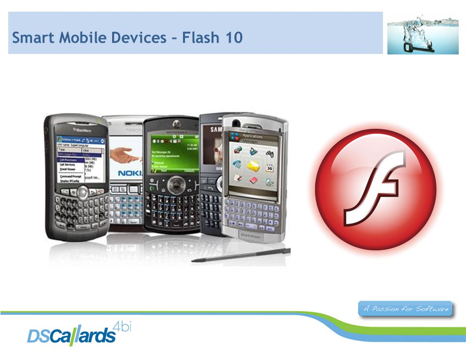 Smart Mobile Devices – Flash 10