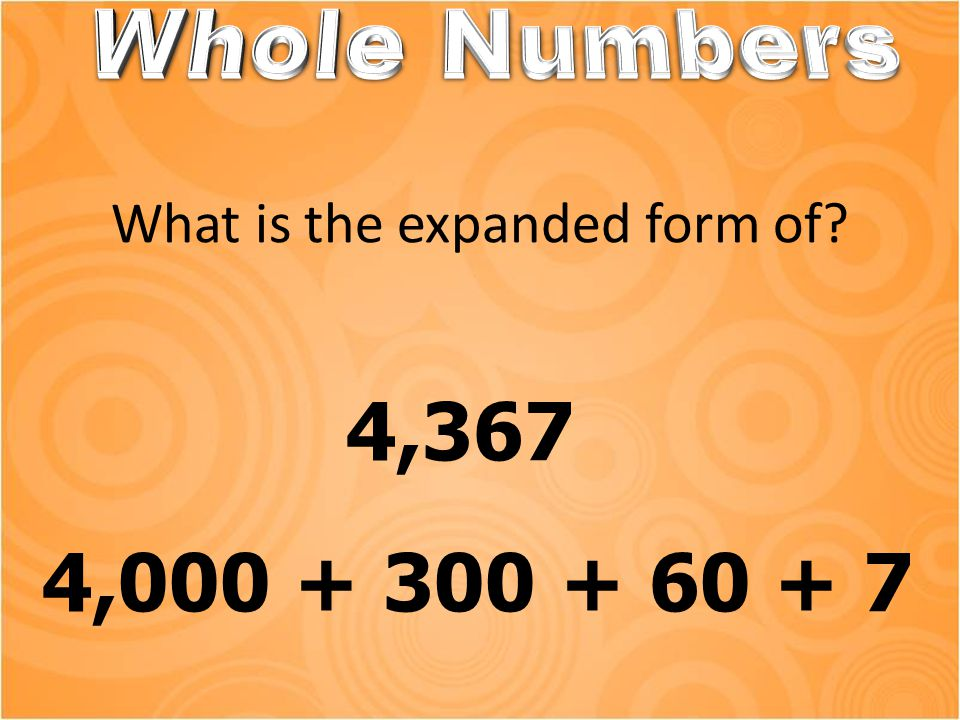 What place value is the 4 in this number? 4,829,105 Millions