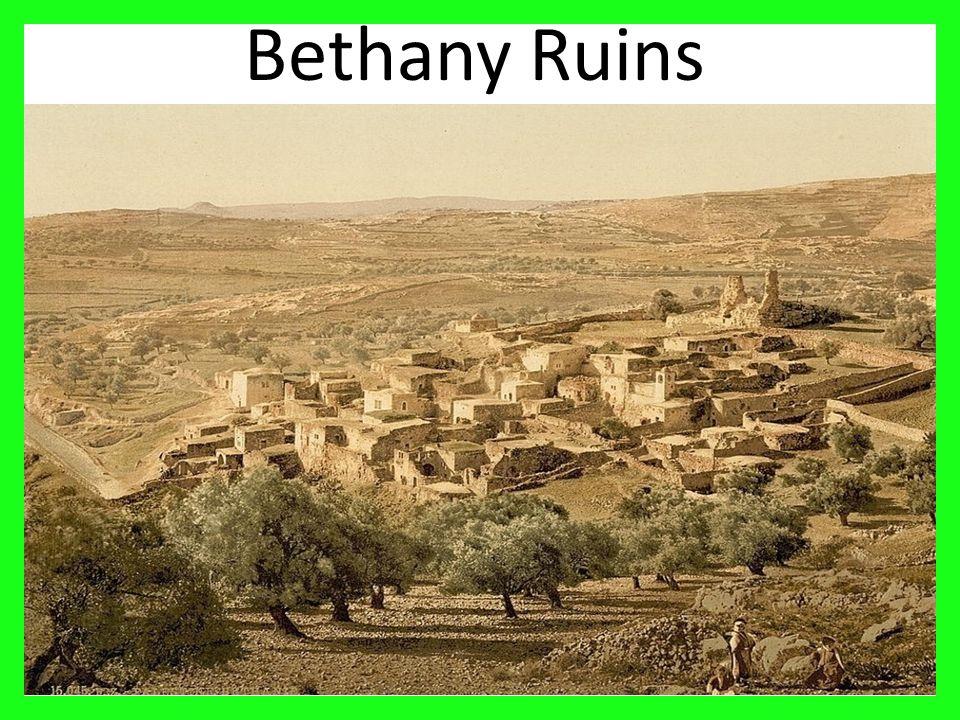 17 Bethany Ruins