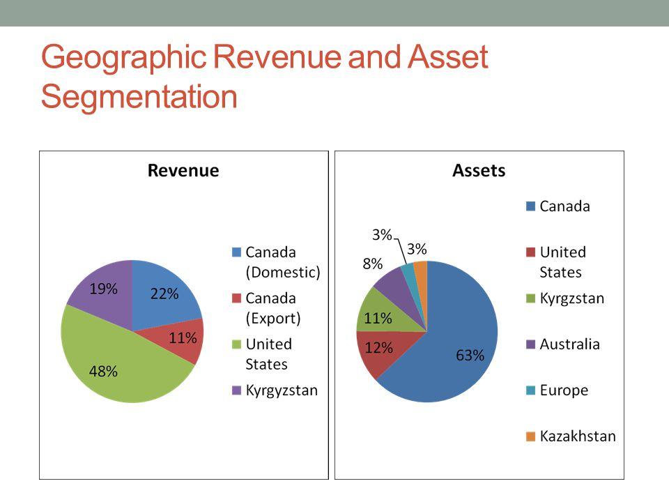 Geographic Revenue and Asset Segmentation
