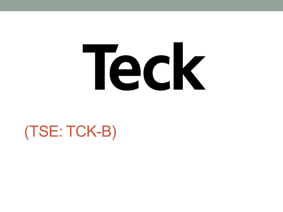 (TSE: TCK-B)