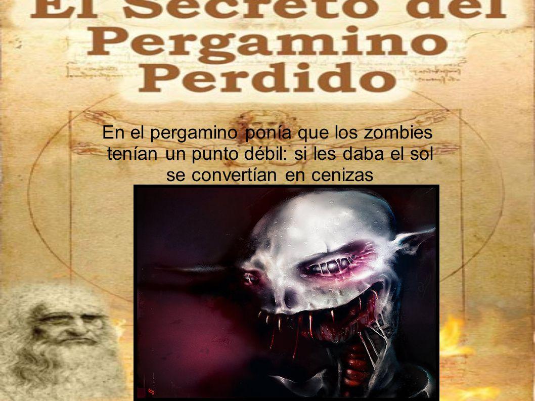 Y así los zombies nunca volvieron a aparecer, llamaron al ejercito nazi y se prepararon para la siguiente batalla.