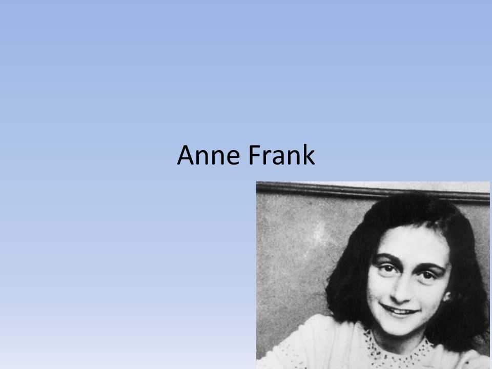 Anne Frank's life was short.She was only fifteen years old when she died in 1945.