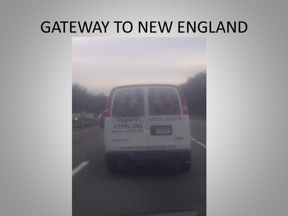 GATEWAY TO NEW ENGLAND