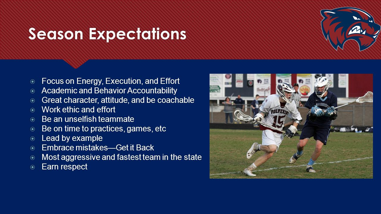 Playing Time Whitaker 2013  Our program is all about competition and players should compete daily for playing time regardless of what grade you are in  Film grades, player efficiency ratings, and hustle and gut points will factor in playing time  It is the responsibility of the player to first discuss playing time issues and not the parent.