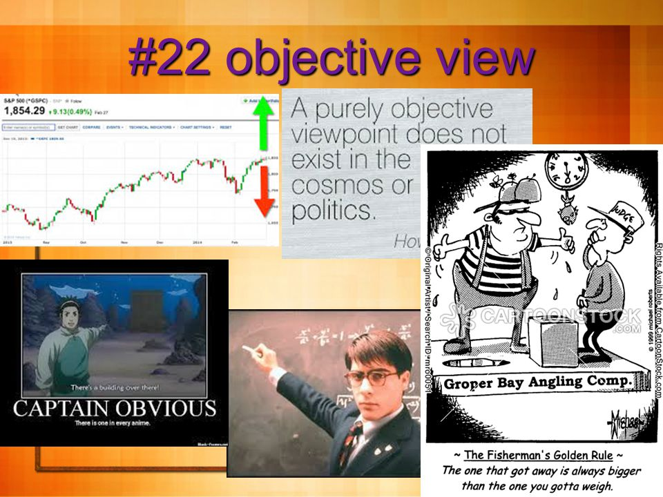 9 #22 objective view