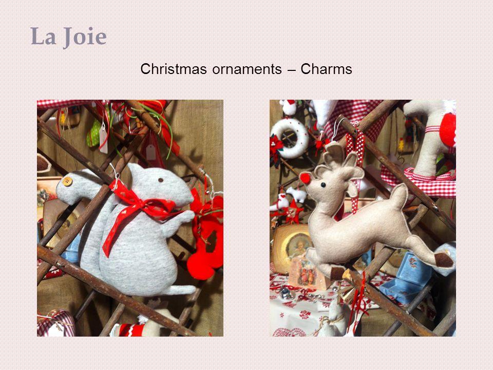 Christmas ornaments – Charms