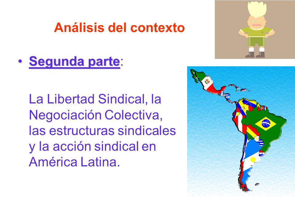 Relaciones laborales en las Américas El modelo de relaciones laborales es similar en casi todos los países de las Américas, con salvedades en algunos sectores como construcción o los casos de Canadá, algunos Estados y sectores de EE.UU, México, en parte Brasil y especialmente Argentina, México y Uruguay.