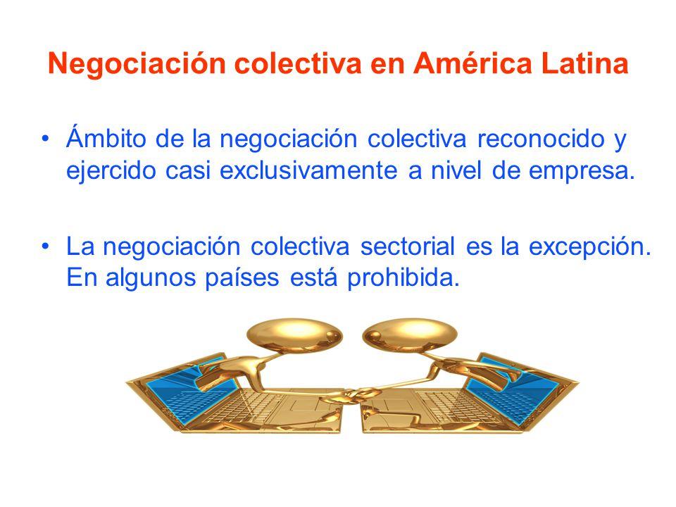 Causas - Efectos La poca negociación colectiva que existe son eventos isla , con predominio de la reivindicación de carácter económico defensivo.