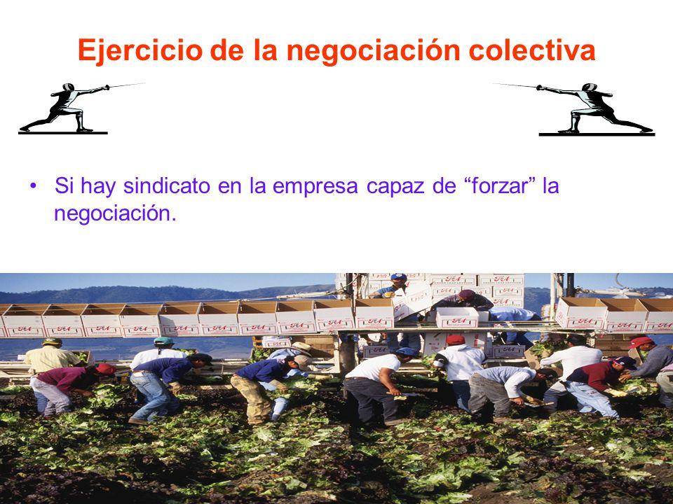 La tasa de cobertura de la negociación colectiva No suele llegar al 10% de media nacional.