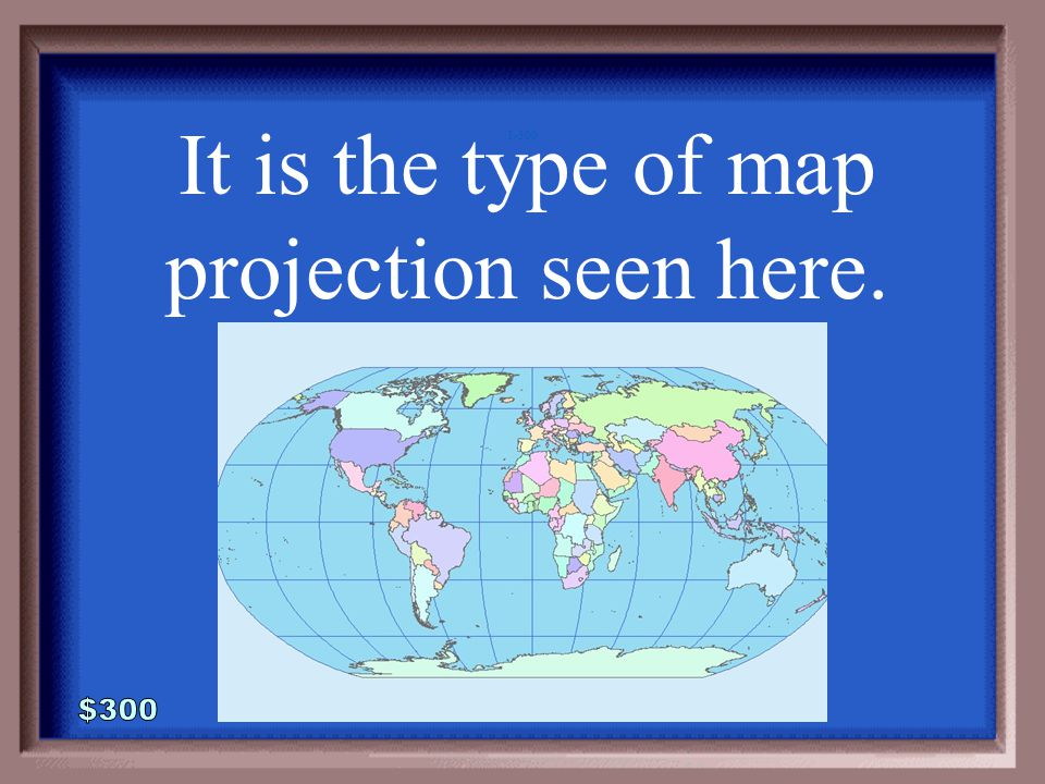1-200A 1 - 100 What is a conic map?