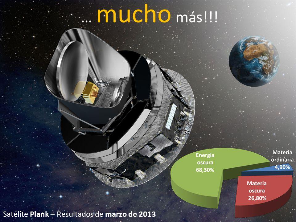 … mucho más!!! Satélite Plank – Resultados de marzo de 2013