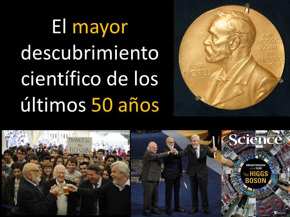 Premio Nobel Física 2013 El mayor descubrimiento científico de los últimos 50 años