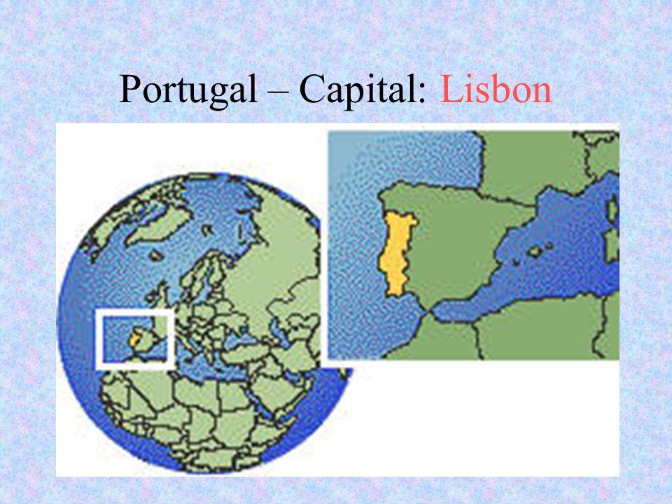 Portugal – Capital: Lisbon