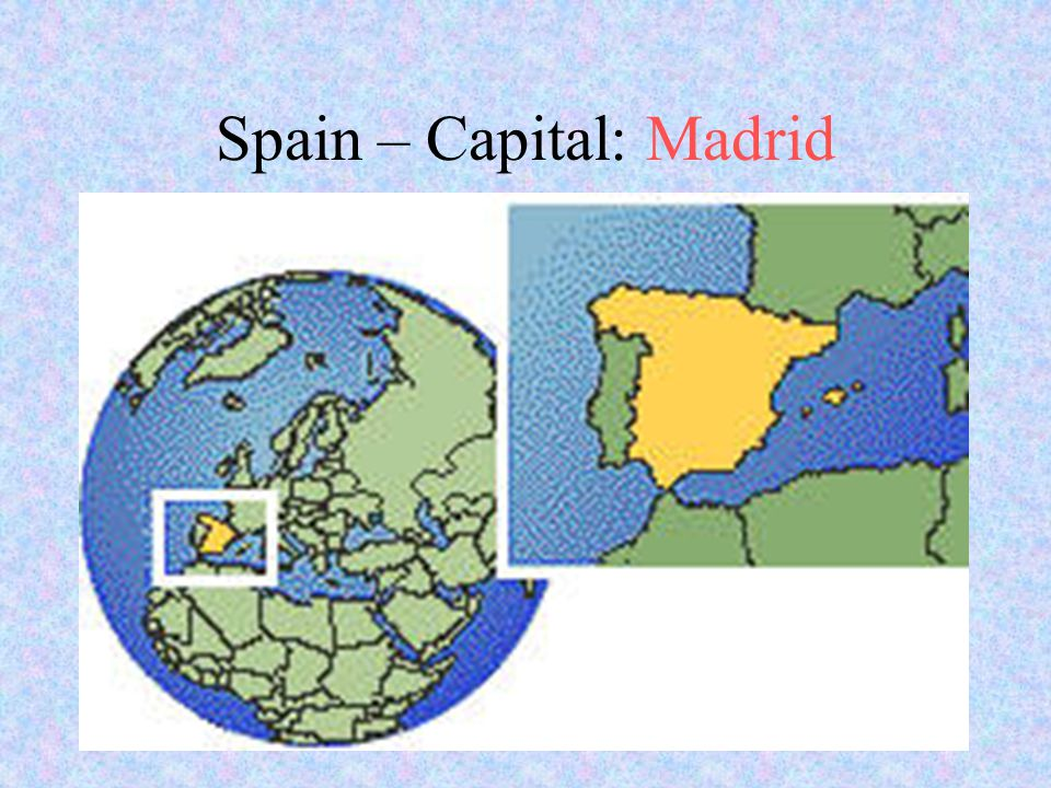 Spain – Capital: Madrid