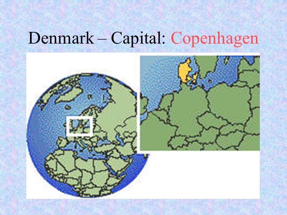 Denmark – Capital: Copenhagen