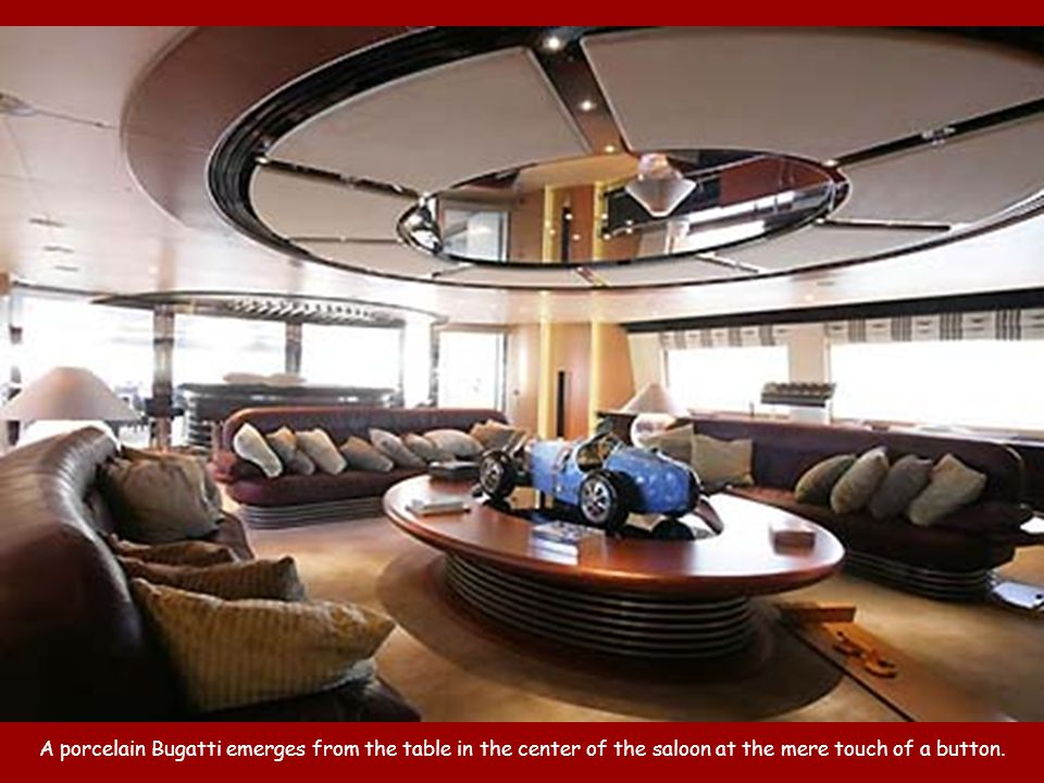 One of four guest suites that can convert into two enormous VIP suites each with his/her heads.