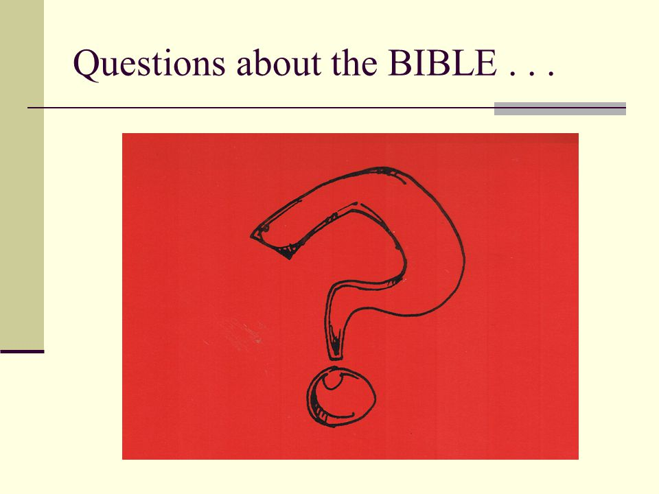 What is so special about the Bible .