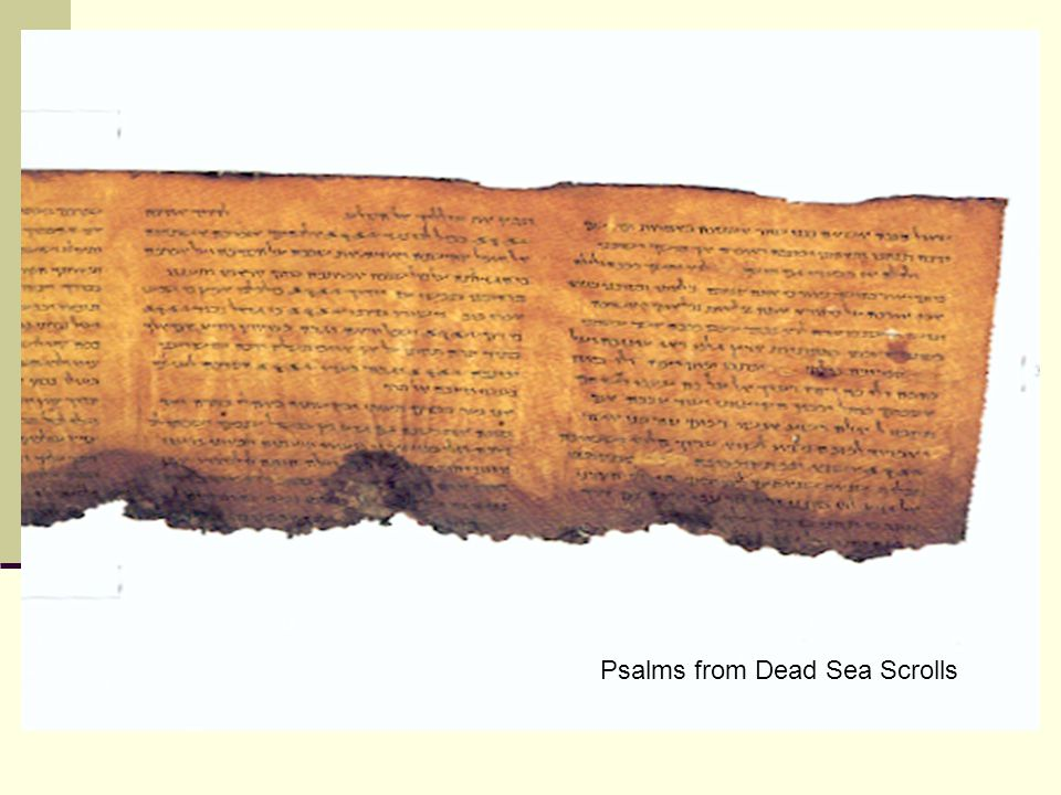Psalms from Dead Sea Scrolls